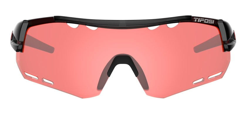 Sunglasses with cycling lens