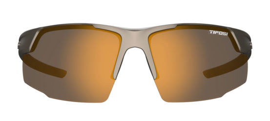 Brown golf sunglasses