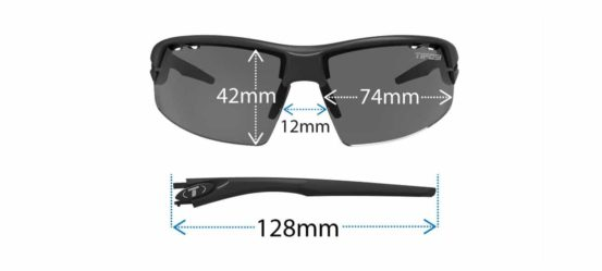 cycling sunglasses diagram