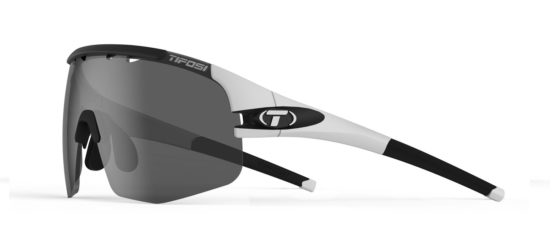 white sport cycling sunglasses