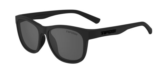 black lens lifestyle sunglasses