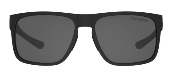 black sunglasses with dark lens
