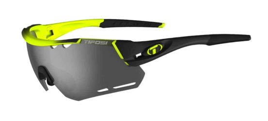 neon sport performance sunglasses