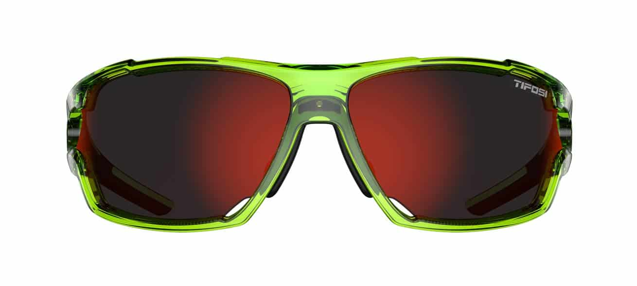 green full frame sunglasses