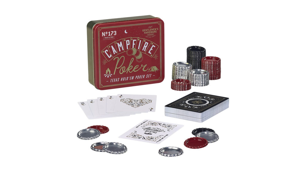 father's day gift guide campfire poker set