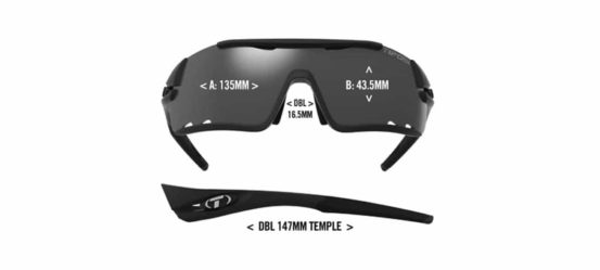 road cycling sunglasses diagram