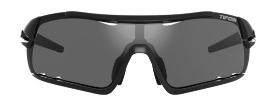black cycling sunglasses