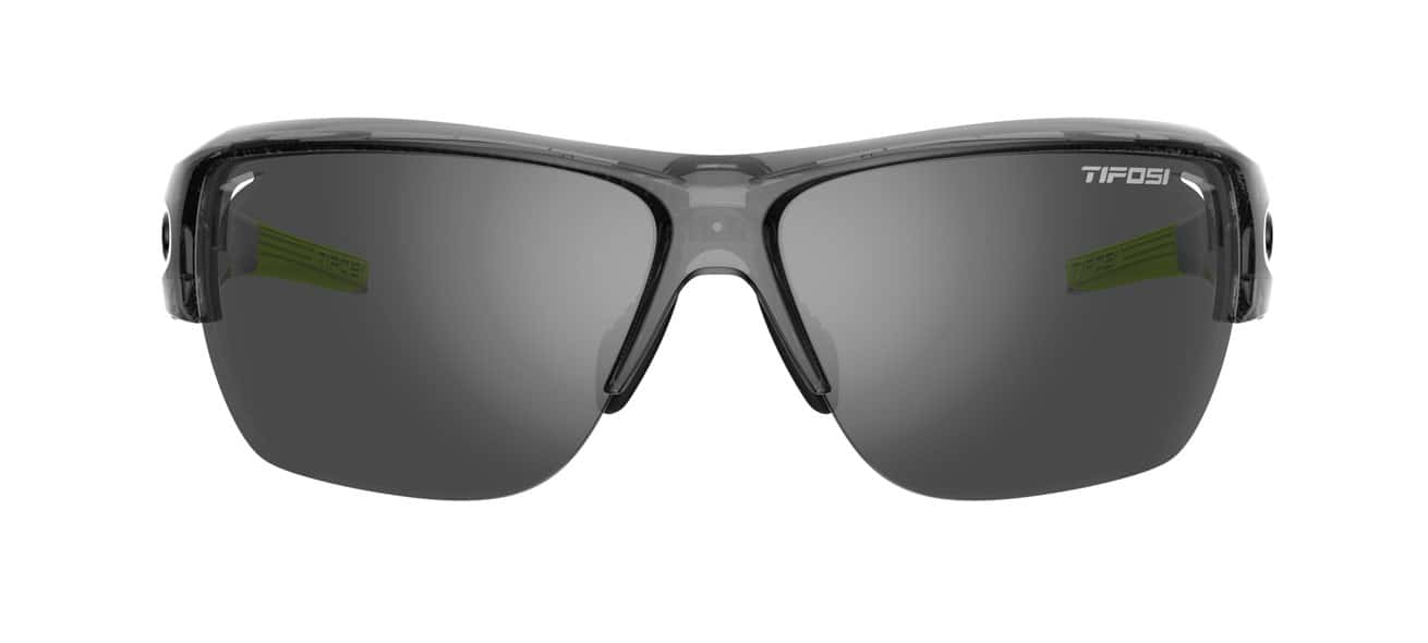 black lightweight running sunglasses