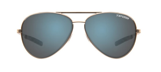 Blue mirrored reflective aviator sunglasses