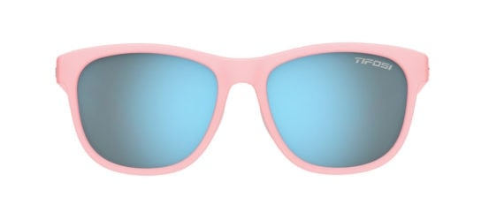 Running sunglasses with a blush frame