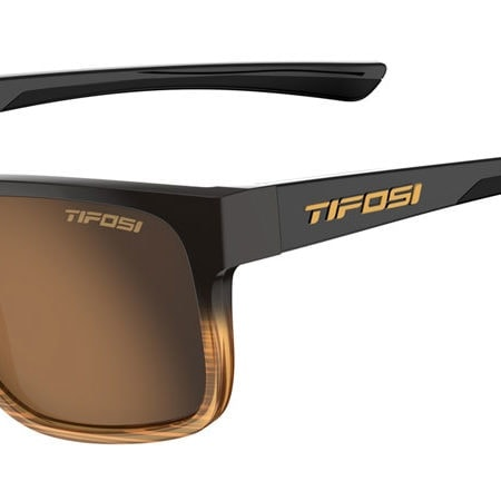 Brown fade sport sunglasses