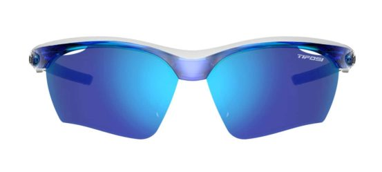 blue running sunglasses